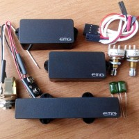 harga pickups EMG PJ set active for 4 string bass made in USA.. Tokopedia.com