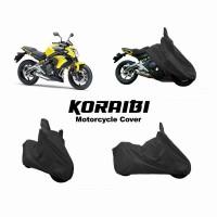 Koraibi Cover Motor K2 Motor Sport Naked Bike - Hitam