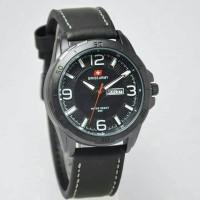 jam tangan swiss army SA -5020 black list white kw super