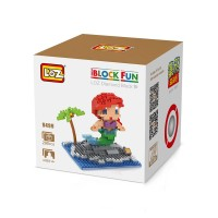 Loz Large Lego Nanoblock Disney Series Ariel The Little Mermaid