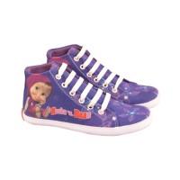 sepatu anak perempuan karakter gambar marsha sepatu lukis DK-CNC.403