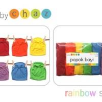 BABY CHAZ Popok Tali isi 6pcs | Popok kain newborn | Babychaz