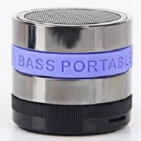 harga Speaker Bluetooth Portable Ori Mini Metal Super Bass-s302-blue Belt Tokopedia.com