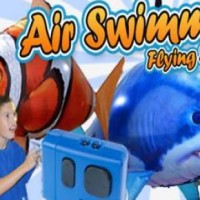 harga Ready Stok - Air Swimmers Remote Control Flying Clownfish Tokopedia.com