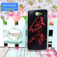 Sony Xperia M2 Aqua - Softcase Custom Case Samurai