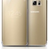 harga Clear View Cover Samsung Galaxy Note 5 Original (gold) Tokopedia.com