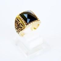 harga Cincin Batu Onyx Hitam Emerald Titanium Gold - Cincin Batu Pria Tokopedia.com