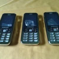 Casing Kesing Fullset Samsung C3322 Lakota Original Silver Hitam