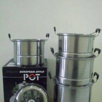 Steamer Pot 555 - European Style