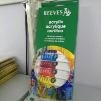 Reeves Acrylic Colour 12