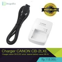 harga Charger Kamera Canon Cb-2lxe Untuk Baterai Nb-5l Powershot Series Tokopedia.com