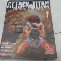 harga Komik Attack On Titan - Before The Fall Tokopedia.com