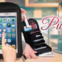 Dompet hp multifungsi smarphone asesoris/touch pur