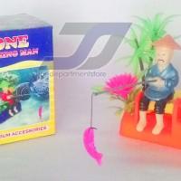 harga Qq One Fishing Man Jungkat-jungkit Dekorasi Aquarium Air Pump Aerator Tokopedia.com