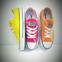 sepatu murah converse grade ori kuning,pink,orange + box