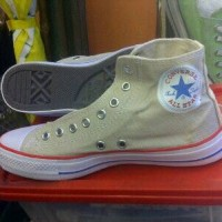 sepatu murah converse high real pick cream + box fa4f2a537b