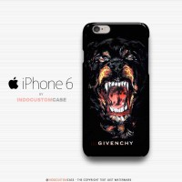 Givenchy Rottweiler iPhone 6 Cover Hard Case