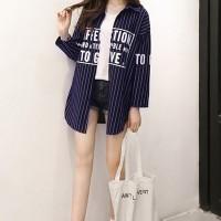Jual Jaket Luaran Cardigan Kemeja Fashion wanita Korea Cute VINTAGE DRESS Murah
