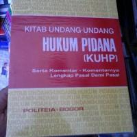harga Kuhp By Soesilo Tokopedia.com