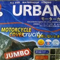 COVER MOTOR URBAN JUMBO (Ninja 250, vixion, byson, CB150R, TIGER, dll)