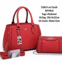 Tas Coach set Clutch