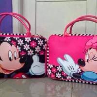Tas Travel Bag Koper Kanvas Renang Kotak Anak Mickey Mini Mouse