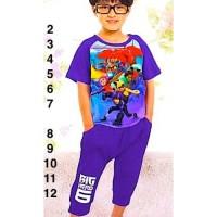 Baju Anak Laki-laki Import Piyama Max Hero 13811 J2 830