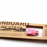 Gantungan Strap Boneka Danboard Kotobukiya Danbo Amazon Pink Original