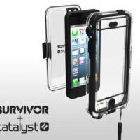 CASING GRIFFIN SURVIVOR WATERPROOF + CATALYST IPHONE 5/5S ANTI AIR