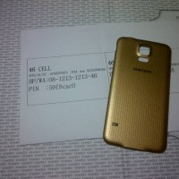 harga Backdoor Tutup Baterai Samsung S5 Gold Ori Bt Bonus Karet Waterproff Tokopedia.com