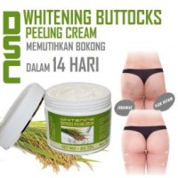 DSC Whitening Buttocks Peeling Cream - Cream Pemutih Bokong Bpom