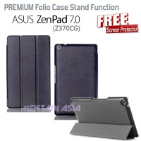 harga Flipcover Zenpad 7.0 Z370CG : PREMIUM Case Stand Function (+FREE SP) Tokopedia.com