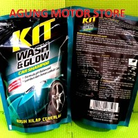 Shampoo Body Motor KIT / KIT Wash & Glow Car Shampoo Pouch / Isi ulang