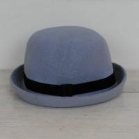 Topi Caplin Dewasa / Bowler Hat Charlie Chaplin Lokal - Abu Muda