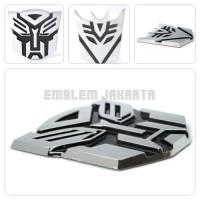 Emblem Mobil Transformer Autobots Deceptions Krom