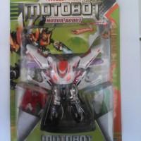 Mainan Motor Robot 2in1