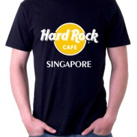 KAOS HARD ROCK CAFE NAMA-NAMA NEGARA