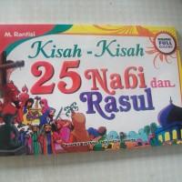 harga Buku Kisah-kisah 25 Nabi & Rosul Full Colour Tokopedia.com