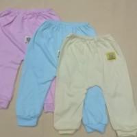 Celana Panjang Bayi NewBorn Kaki Buka Hello Baby 3Pcs