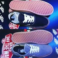 Sepatu Vans Authentic Full Black Gum Keren