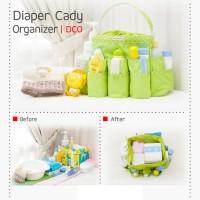harga Diaper Caddy Organizer D'renbellony - Green (Tas Perlengkapan Bayi) Tokopedia.com