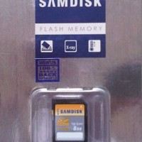 Memori atau Memory Card SAMDISK SD 8 GB Class 10 Speed 30 MBps