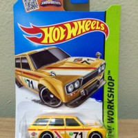 Hot Wheels Datsun Bluebird 510 Wagon Yellow