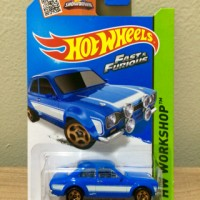 Hot Wheels '70 Ford Escort RS1600 Fast & Furious Paul Walker Brian