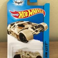 Hot Wheels Batman The Tumbler Camouflage Version