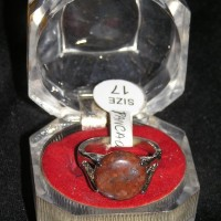Cincin Batu Akik PANCAWARNA Bulat size 17 Untuk Pria Wanita Muda