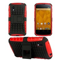 Rugged Armor Lg Nexus 4 E960 Case Cover Armor With Stand
