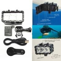 TELESIN Waterproof LED Light For GoPro