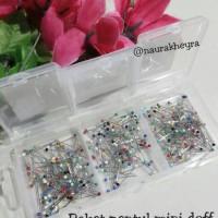 harga Multibox 3 Sekat Jarum Pentul Mini Doff Newey Tokopedia.com