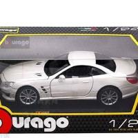 harga Diecast Bburago 1:24 - Mercedes-Benz SL 65 AMG Hard Top Putih Tokopedia.com